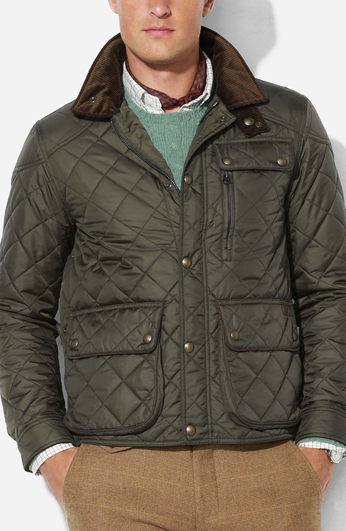 317e5052 men's polo ralph lauren quilted vest - Google Search | Sophisticated ...