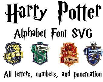 Harry Potter Font SVG