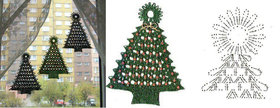3 Patrones de Crochet para Navidad - Patrones Crochet | Crochet ...