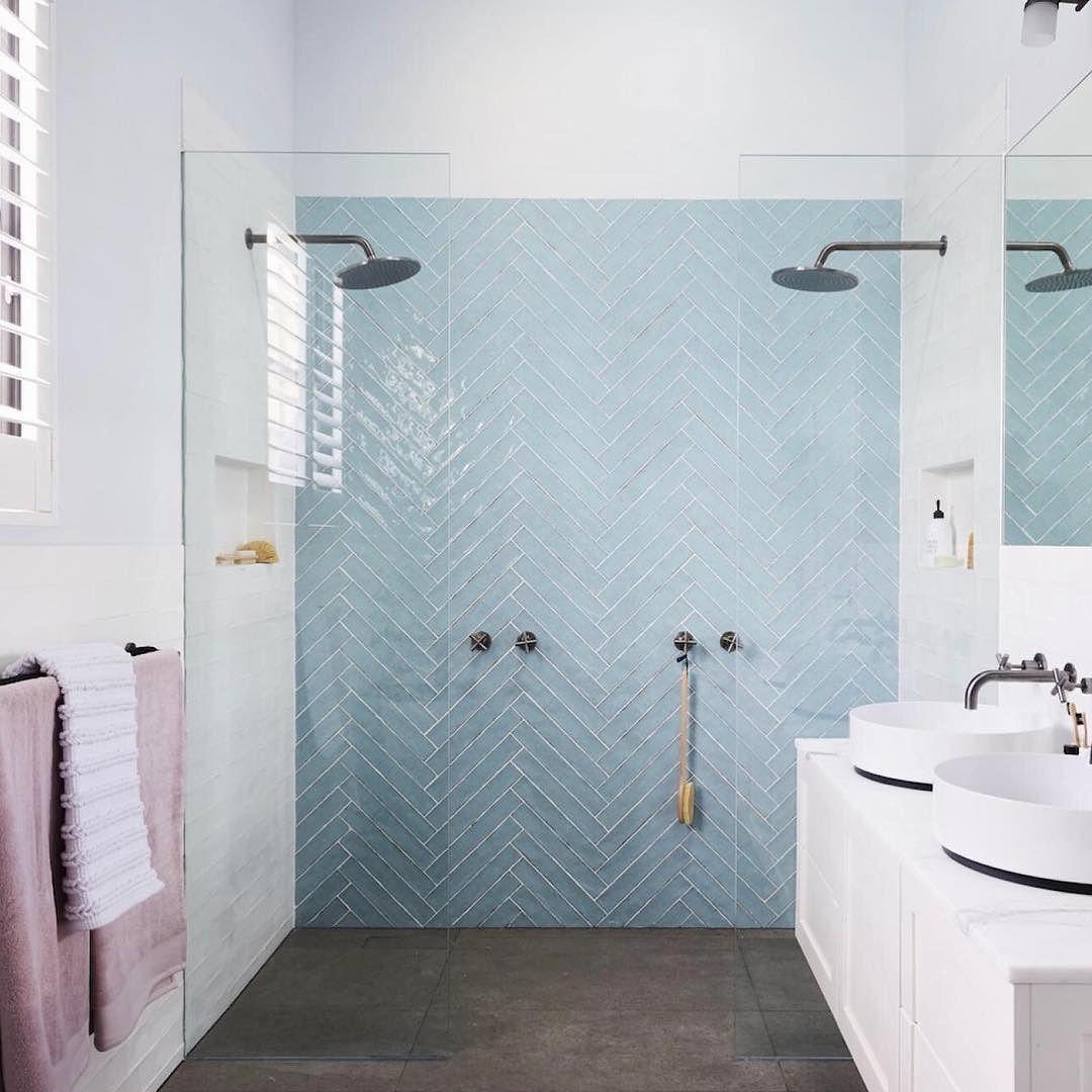 Fresh bathroom: tile detail | wyeree house | Pinterest | Towels ...
