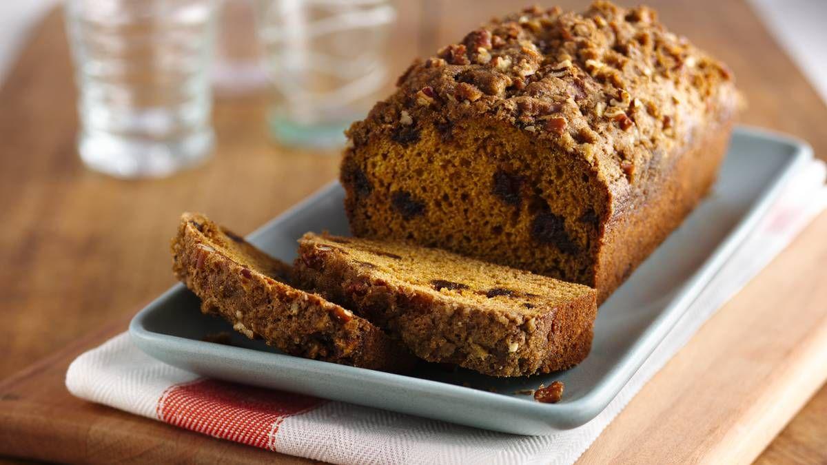 Gluten Free Pumpkin Bread Recipe Date bread, Baking