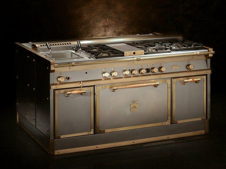 Cucina a libera installazione OG168 Grigio by Officine Gullo | New ...