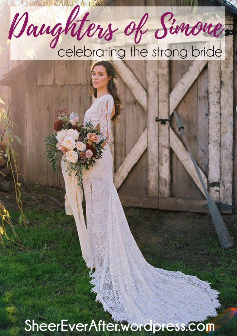 Daughters of simone u feminine and fierce wedding dresses bohemian
