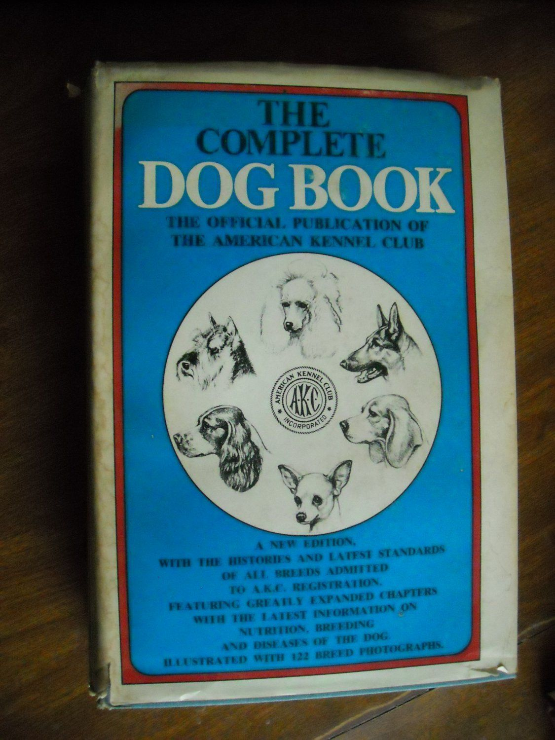 The Complete Dog Book Publication of the American Kennel Club For Sale At Wenzel Thrifty Nickel ecrater store