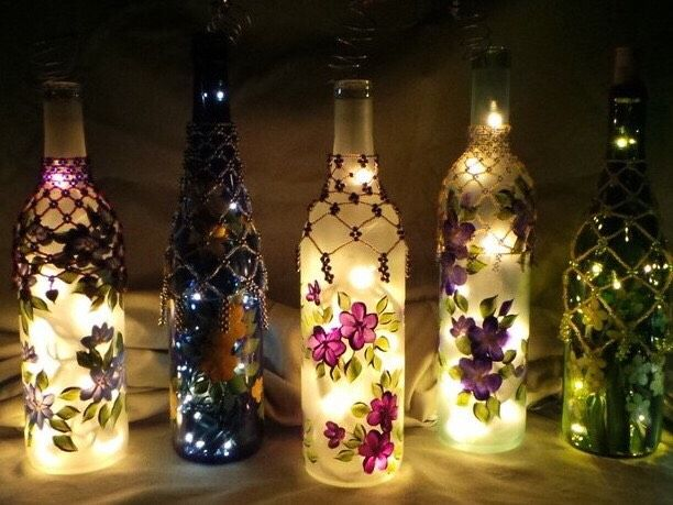 "Wine Bottle Decorating Ideas You Cant Be Too Busy To Explore This ""wine Bottle Decoration"