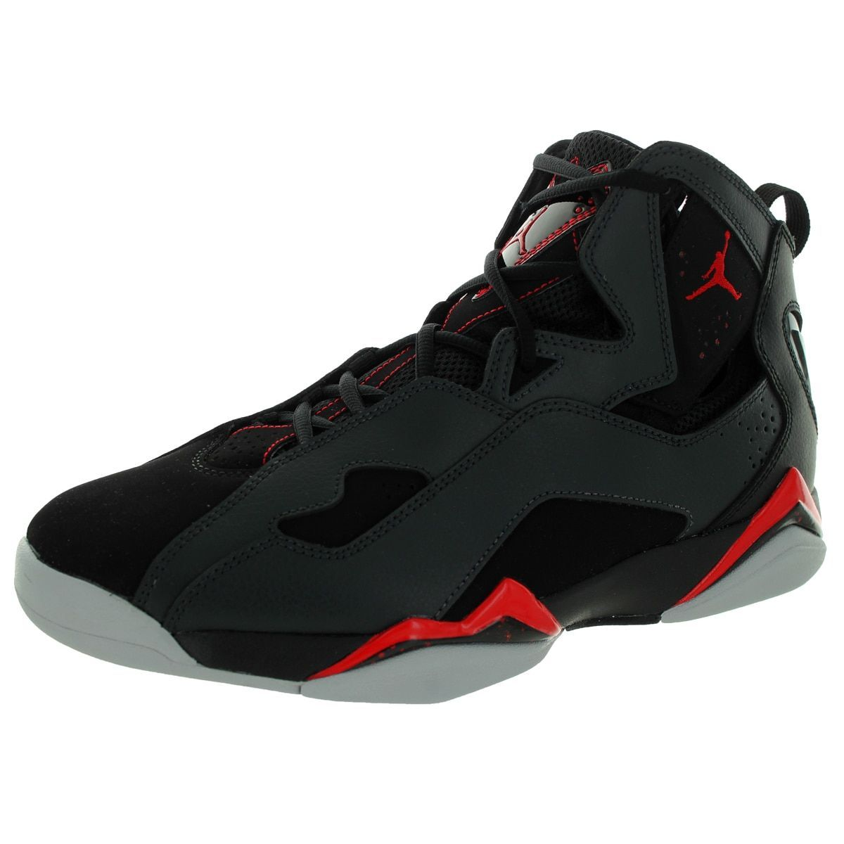 Nike Jordan Men\u0027s Jordan True Flight /Gym Red/Anthracite/Wlf Basketball Shoe