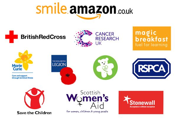 Amazonsmile Launches In The Uk Giving 0 5 Donation Of Your