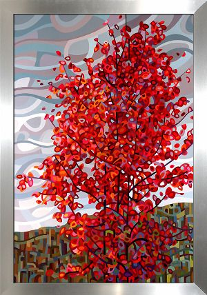 "Que Sera Sera, Framed Canvas (14"" x 18"")"