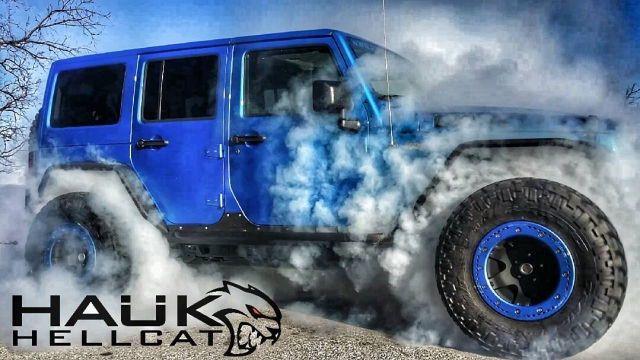 Hellcat Jeep Oh Yea Jeep Wrangler Jeep Hellcat