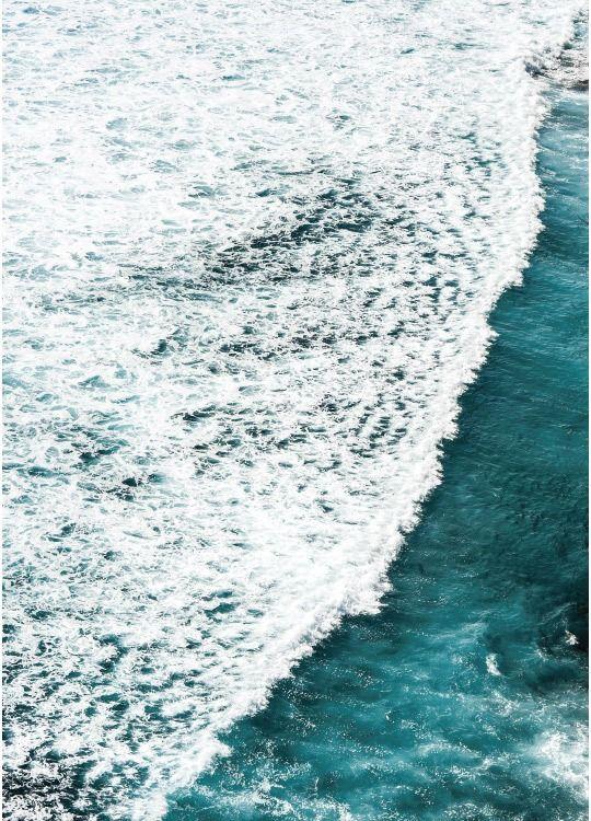 Plakat Med Fotokunst I Form Af Havet Fotokunst Plakater Kunst Ideer