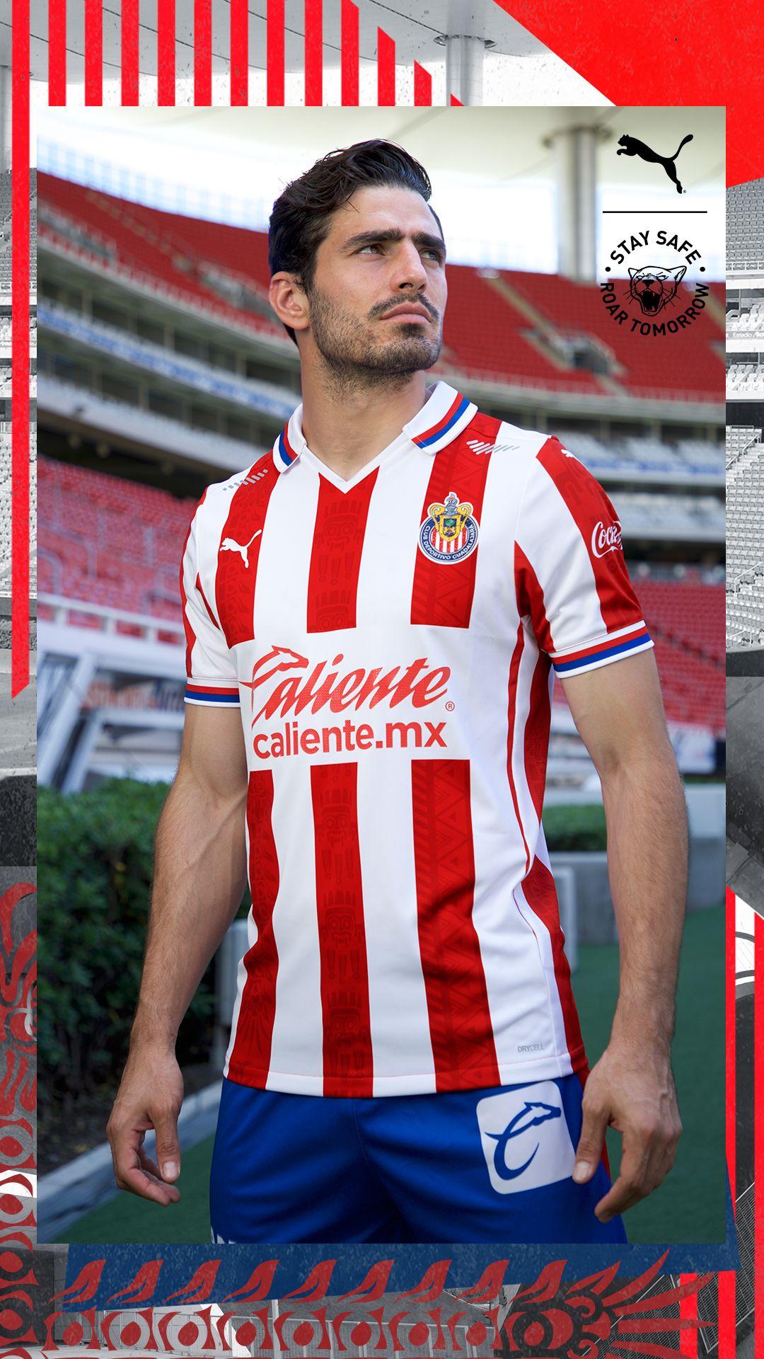 Chivas Guadalajara 20/21 Home Jersey by PUMA   World Soccer Shop ...