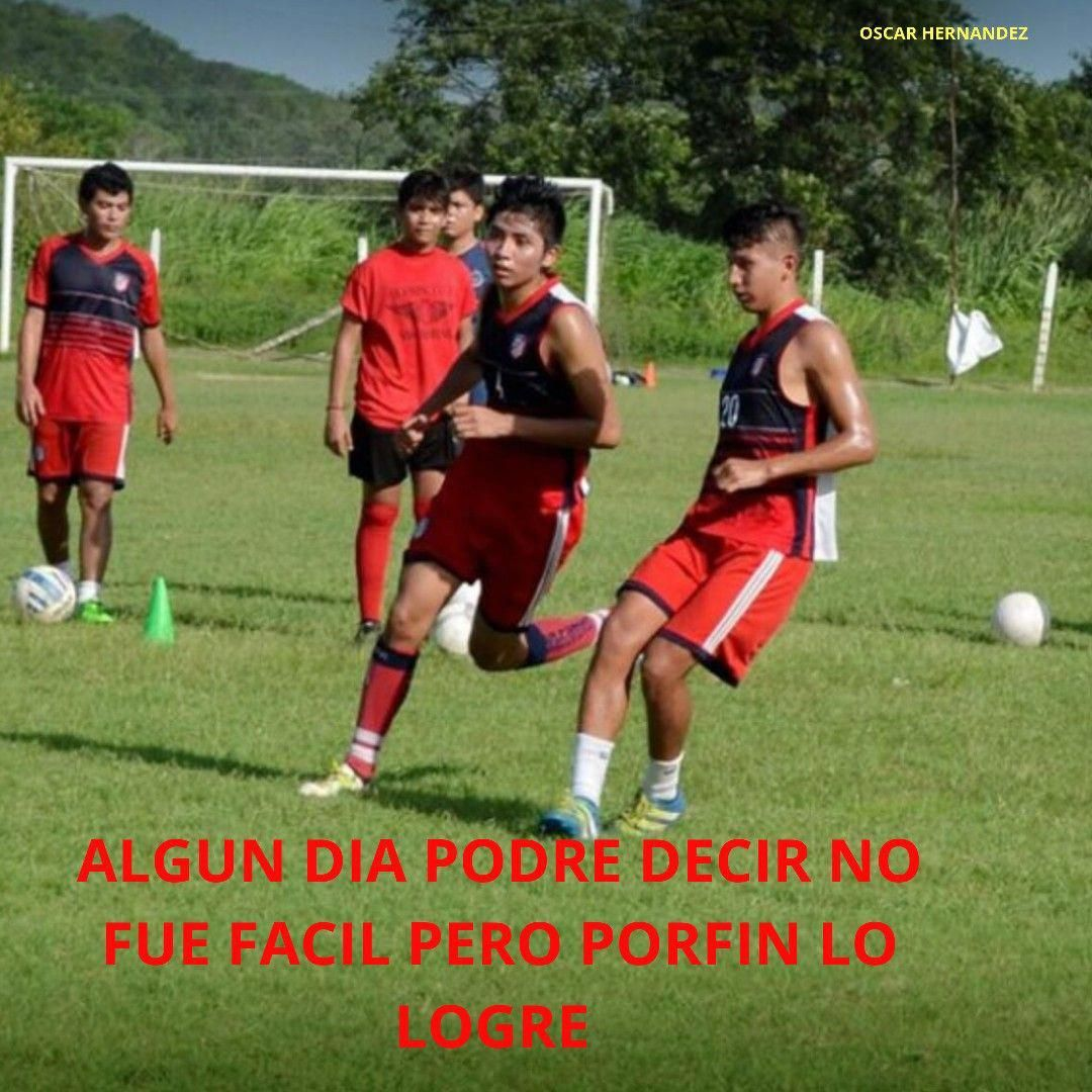 Frase Motivadora Futbol Futbolfemenino In 2020 Soccer Field Soccer Sports