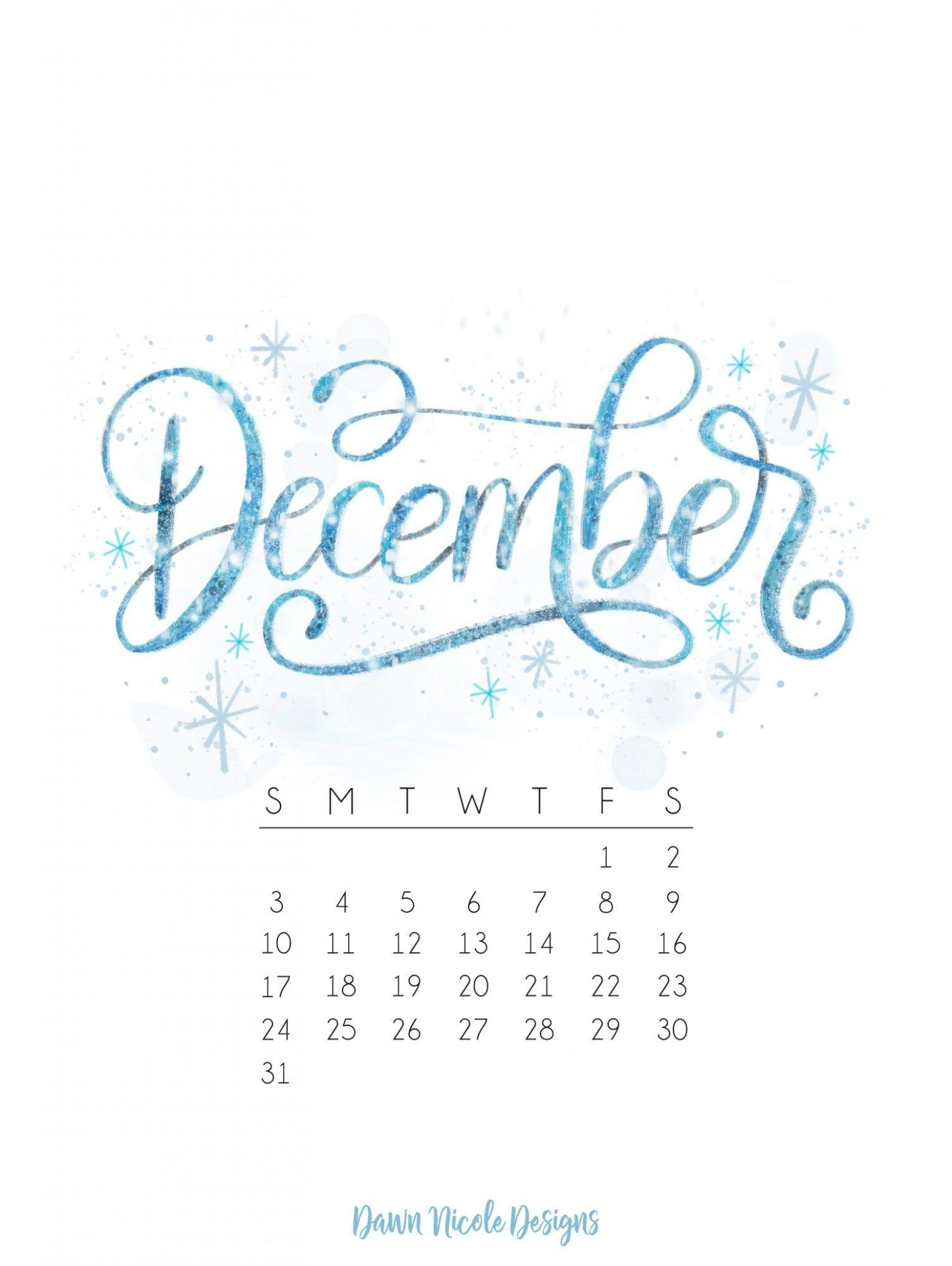 December 2018 Calendar Christmas December 2018 Calendar Calendar