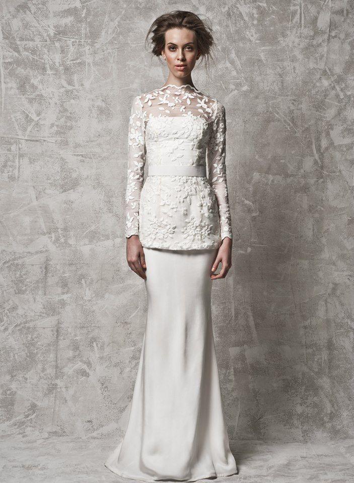 Nurita harith baju baju kawin pinterest baju kurung for The notebook wedding dress