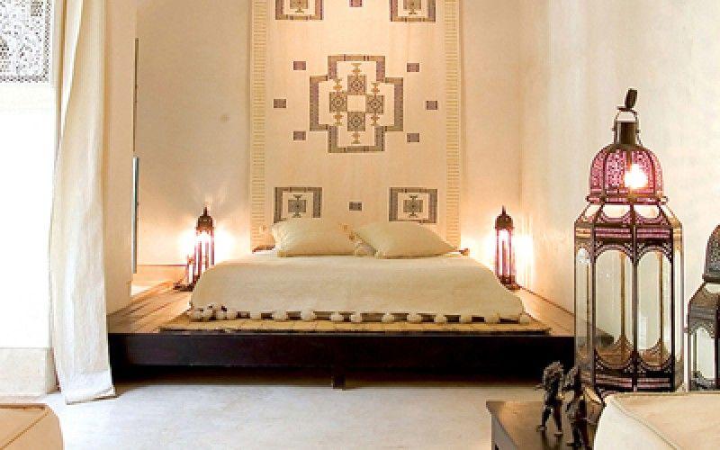 Riad Tchaikana} Une décoration marocaine épurée   Moroccan ...