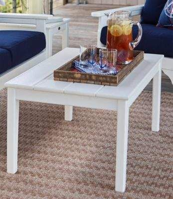 L.L. Bean L.L.Bean All-Weather Patio Coffee Table | Pinterest
