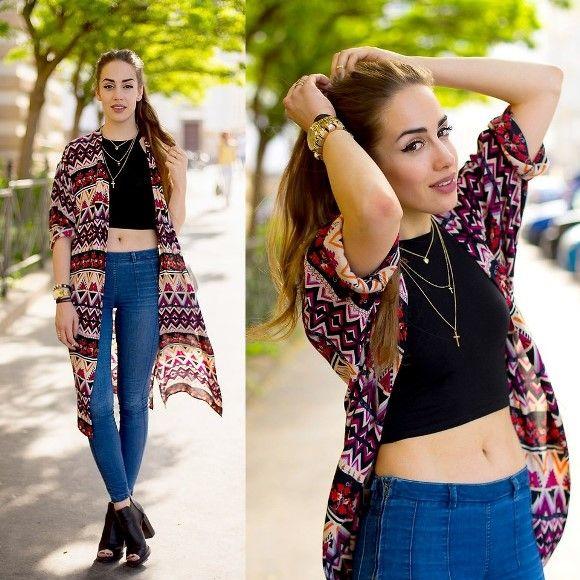 O quimono continua sendo uma forte tendência. (Foto: Reprodução/Lookbook.nu)
