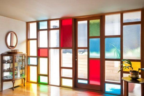 Beautiful Home Window Reminiscent of Piet Mondrian | Mondrian ...