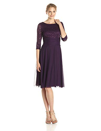 d9d013b614 Jessica Howard Women s Lace Bodice Fit and Flare Dress