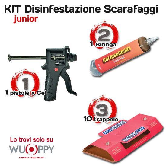 Check Out Our Awesome Product: Kit Disinfestazione Scarafaggi Junior Fai da Te da soli 95,90 euro>>>>>>Proteggiti da ospiti indesiderati