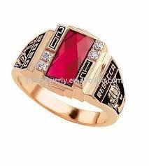 Resultado de imagen para anillos de graduacion con dos piedras