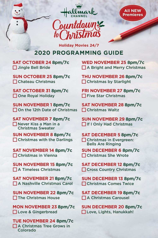 Countdown To Christmas 2020 In 2020 Christmas Countdown Movie Premiere Original Movie