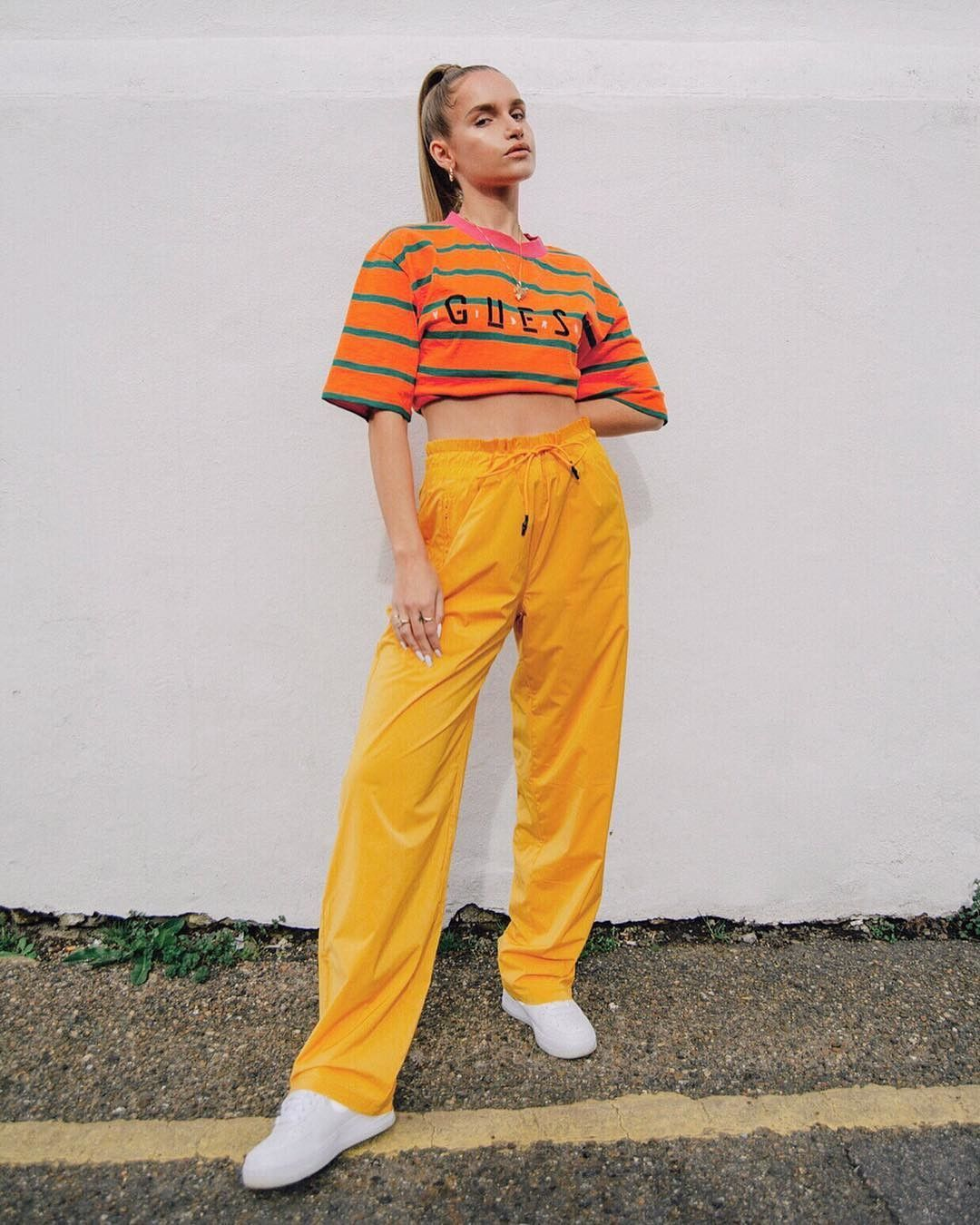 Guess X J Balvin Streetwear Women Streetwear Fashion Fashion
