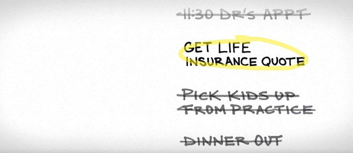 "Get A Life Insurance Quote Delectable Talking Care Of My Daily ""honey Do"" List Term Life Puts Family"