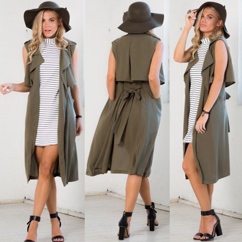 df5049e4895f Women Warm Hooded Long Coat Jacket Trench Windbreaker Parka Outwear Pullover