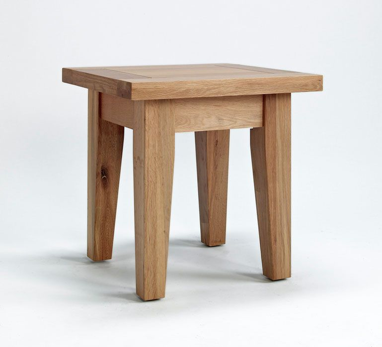 This simple, four-legged friend makes the perfect minimist bedside table and would also be ideal as an eye-catching standalone lamp table or coffee table. Reassuringly chunky, this solidly constructed and versatile table is exclusively made from premium grade oak with solid oak veneers and is supplied fully assembled. Only £110