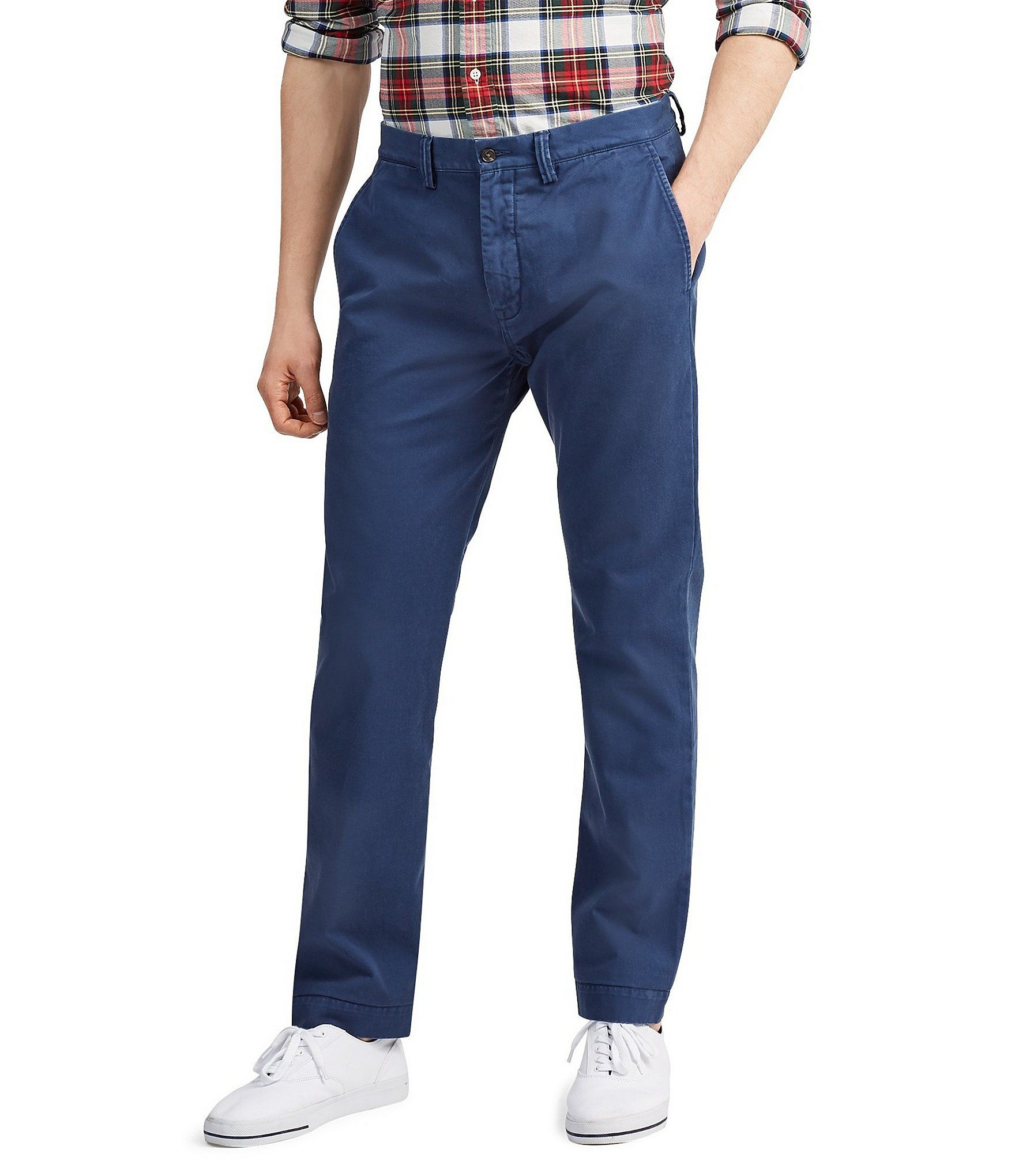 Polo Ralph Lauren Classic Fit Flat Front Bedford Chino