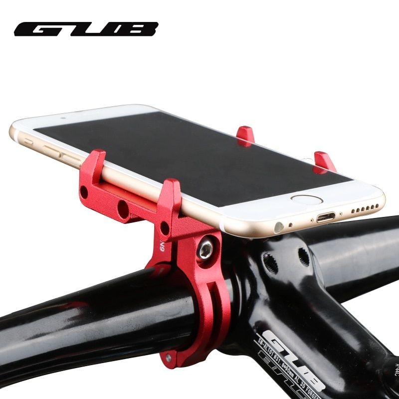 US Aluminum Bike Bicycle Phone Holder Mount Handlebar For For 3.5~6.2 in Phone