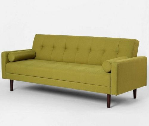 Green-Contemporary-Sleeper-Sofa-Bed-Mid-Century-Modern-Convertible ...