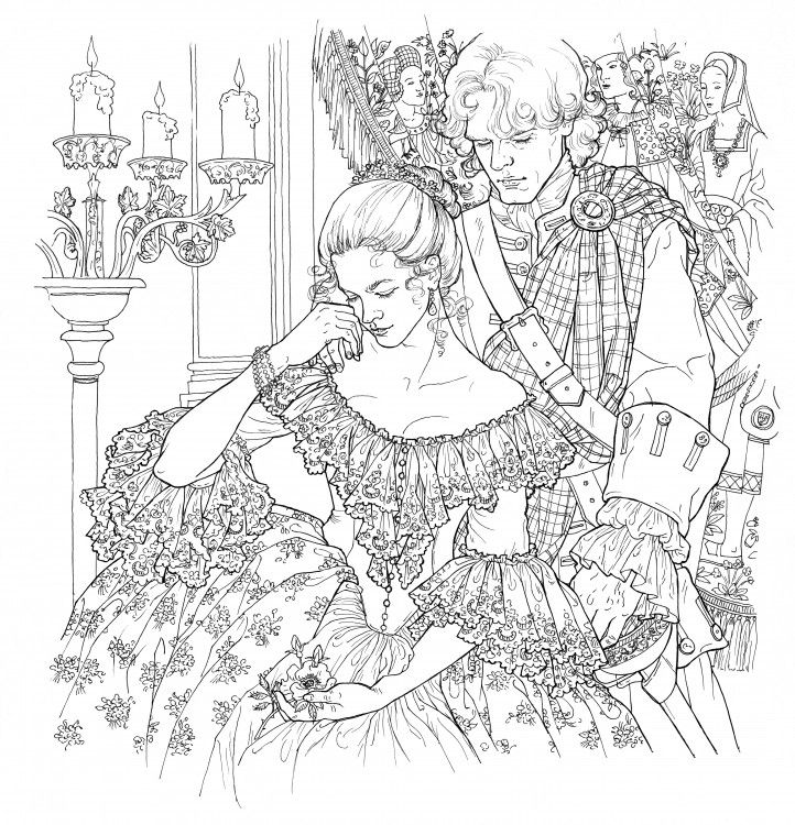 Outlander3  COLORING PAGES  Pinterest  Game of Blog and Of