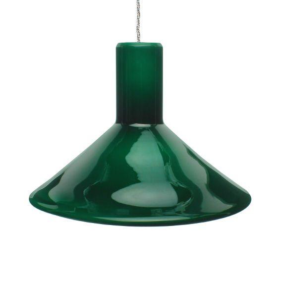 Pt large green glass pendant lamp michael bang holmegaard pt large green glass pendant lamp michael bang holmegaard royal copenhagen wilson coleman aloadofball Image collections