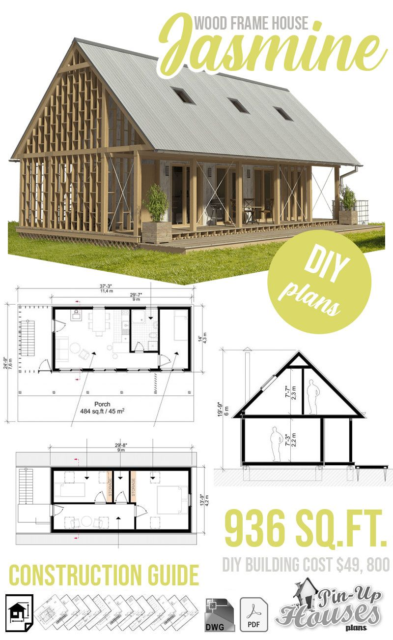 Wood Frame House Plans Wood Frame House House Plans Building Costs