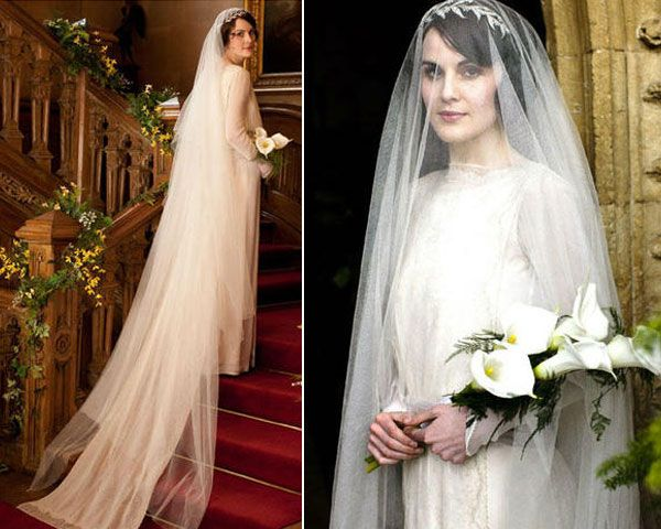 el vestido de novia de lady mary en downton abbey | sí, quiero
