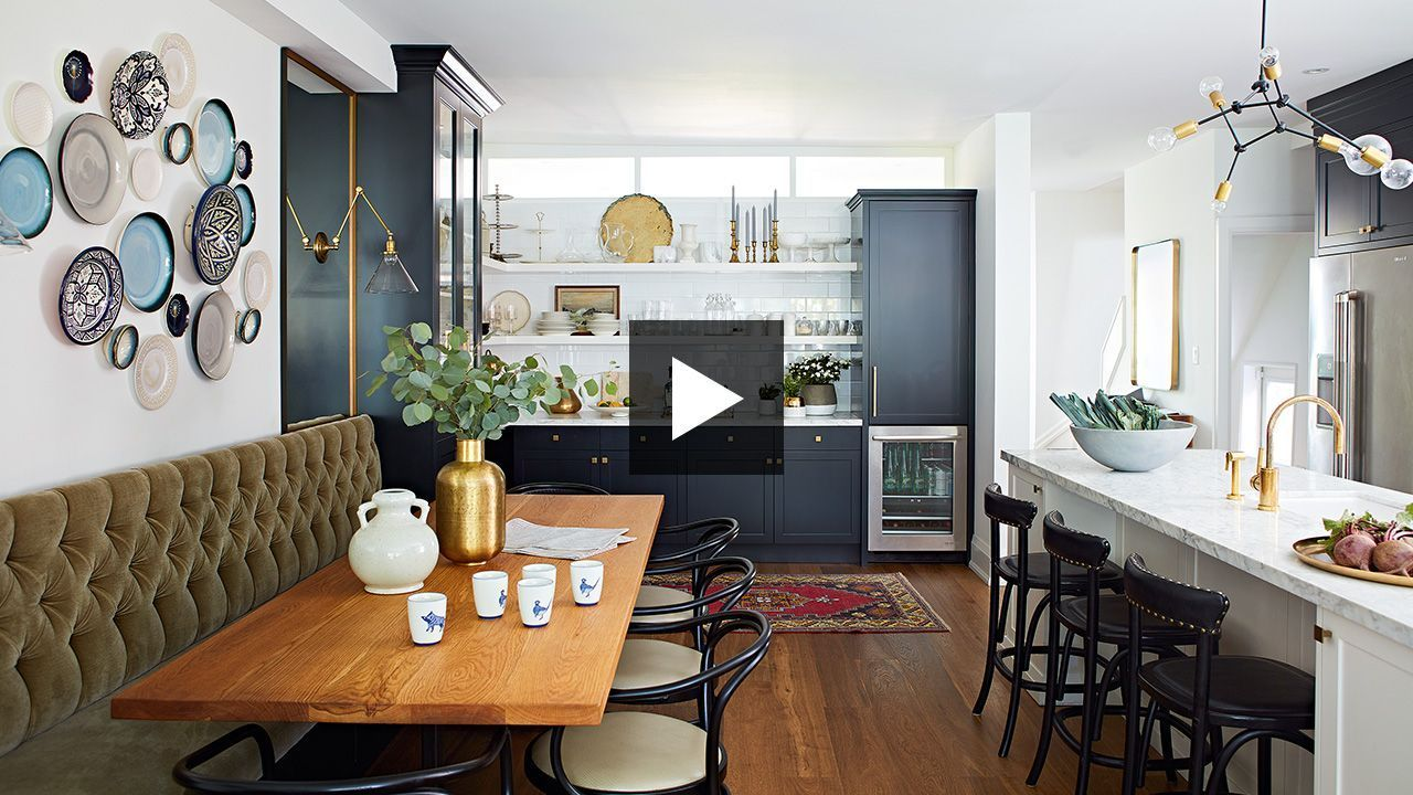 Galley Kitchen Makeover: A Narrow Space Gets A Timeless Update #opengalleykitchen