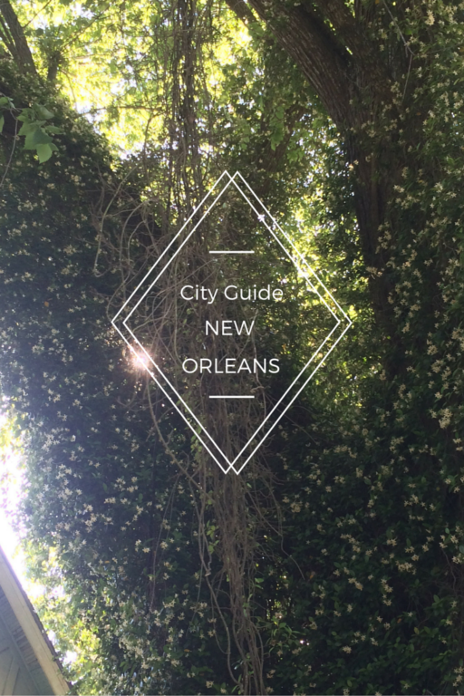 City Guide to New Orleans