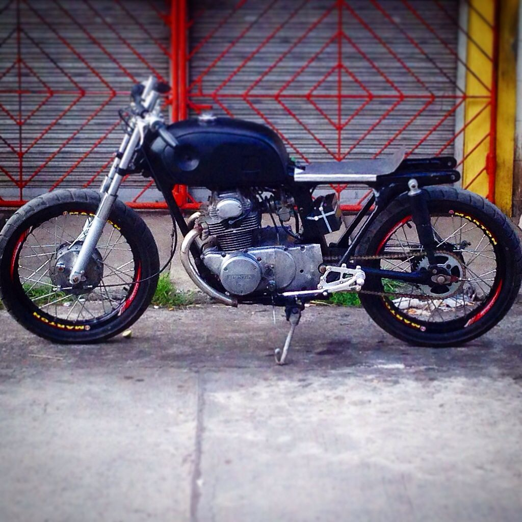 Finaly Running After 8 Months Cd175 Cafe Racer Bike Motorcycle