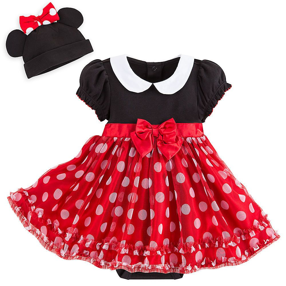 DISNEY STORE PINK MINNIEMOUSE BABY COSTUME BODY SUIT BNWT ALL AGES FANCY DRESS