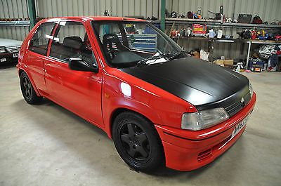 peugeot 106 rallye phase 1 red rally track car approx 150bhp view more on the link http. Black Bedroom Furniture Sets. Home Design Ideas