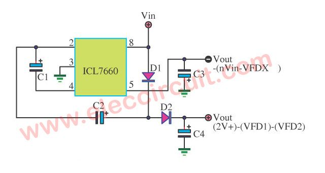 isolated dc converter for digital using 555 electronics