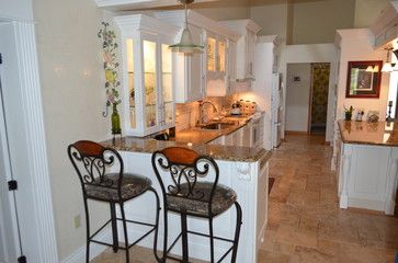 granite kitchen - tropical - kitchen - tampa - depotgranite