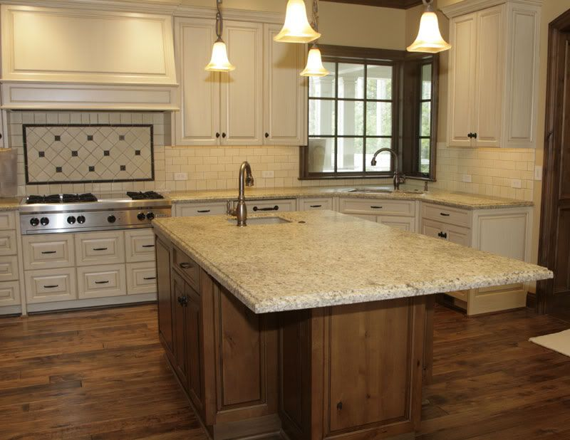 New Venetian Gold Backsplash Ideas Part - 40: Honed Venetian Gold Granite