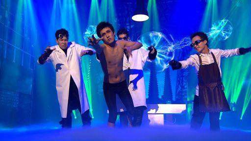 Robotdance in Franksteins Labor - Tumar KR im Supertalent-Finale - Video