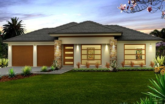 south african house designs google search - Modern African House Plans