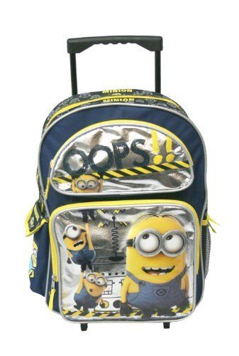 Despicable Me 2 - Rolling Backpack by AI @ niftywarehouse.com ...