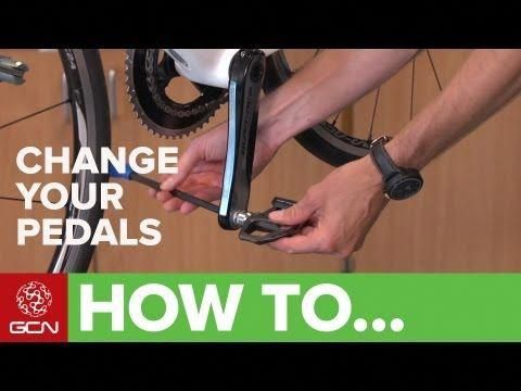 How To Change Pedals Remove And Replace Your Bicycle Pedals