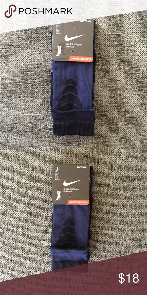 detailed look c8617 3fa1d Nike Elite Vapor Football crew sock Men s shoe size 6-8   Women s shoe size  6-10 • New with tags Nike Underwear   Socks Athletic Socks